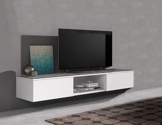 Tv Kast Hangend : Hang tv dressoir float cm open vak miltonhouse