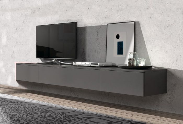 Tv Kast Hangend.Hangend Tv Dressoir Float 221 Cm