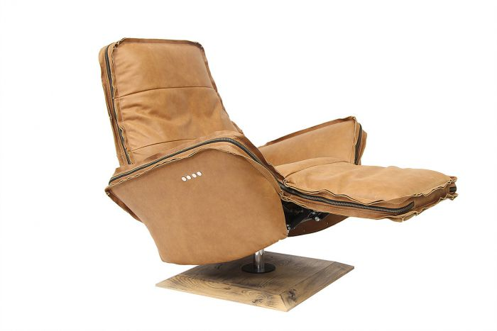Fauteuils Relax Leer.Relaxfauteuil Esila Chill Line