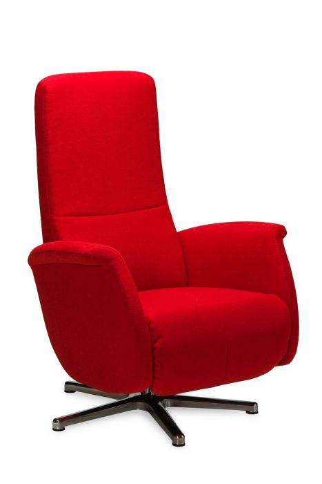 Relax Fauteuil Creme Leer.Guido Relaxfauteuil Gealux Miltonhouse