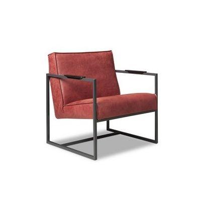 Bibi fauteuil leer - Het Anker