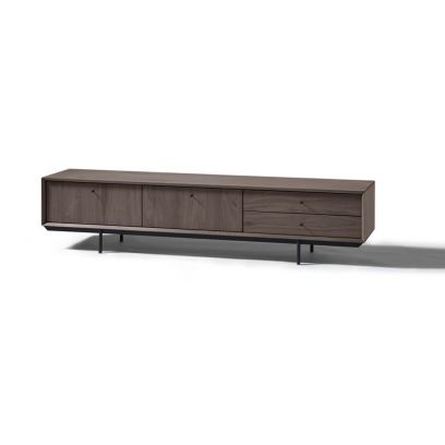 TV dressoir Cloud 200 cm. 2 kleppen, 2 laden