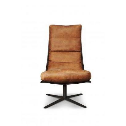 Brutus fauteuil eco leer - Het Anker