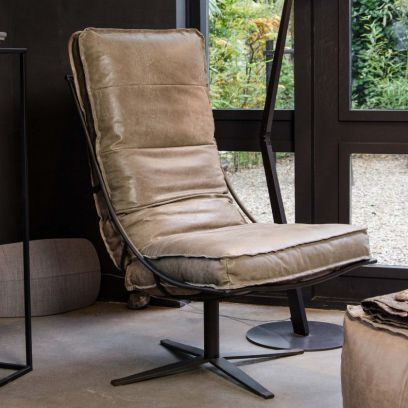Brutus fauteuil tin - Shabbies Amsterdam
