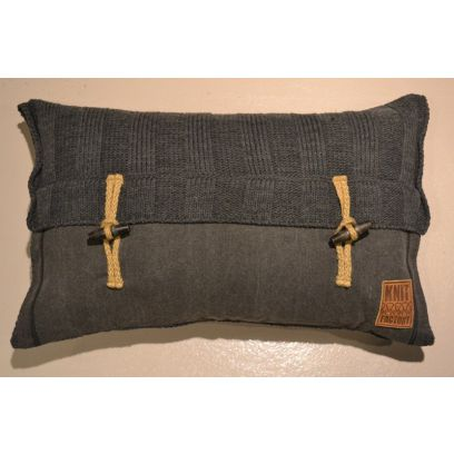 Knit Factory kussen Rib 60 x 40
