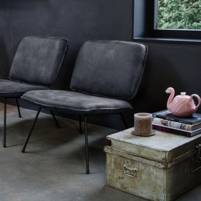 Caramba fauteuil superblack - Shabbies Amsterdam