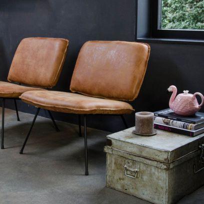 Caramba fauteuil walnut - Shabbies Amsterdam