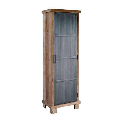 Geneve 1 deurs kast metalen deur