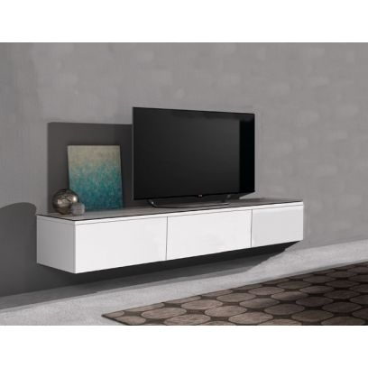 Hangend TV dressoir Float 166 cm