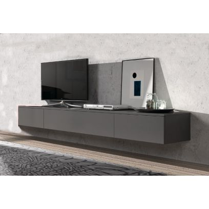 Hangend TV dressoir Float 221 cm