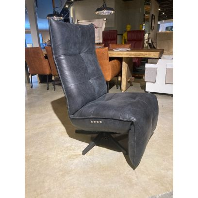 Relaxfauteuil Jerry - Chill line Concrete Black
