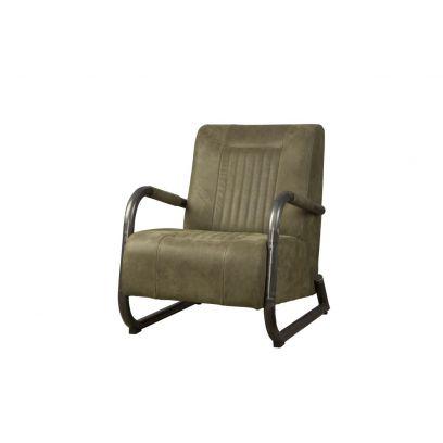 Barn fauteuil leer