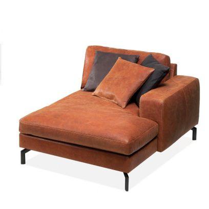 Malta chaise longue arm rechts leer