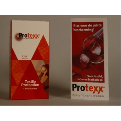 Protexx protector 2 zitplaatsen, Textiel 3 jaar service (alléén in comb. met nieuwe bank aangekocht bij Miltonhouse/I Live Design)