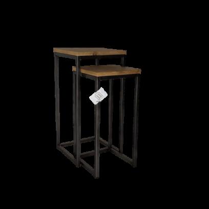 Metaalframe plantentafel set
