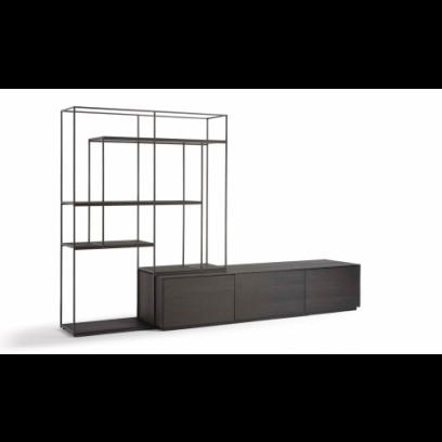 Intense TV meubel + wandrek 288 cm - NT71
