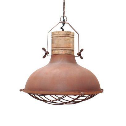 Grid Rust hanglamp